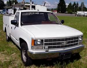 89 chevy 2500 utility truck excellent