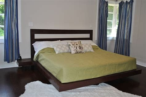 Diy Bed Frame Cheap by Easy To Build Diy Platform Bed Designs