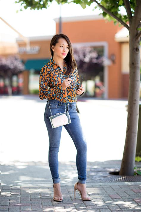 7 Great Fashion Blogs by Leopard Print Blouse Images