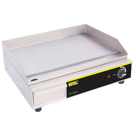 Countertop Electric Grills by Buffalo Countertop Electric Griddle 525x450x200mm