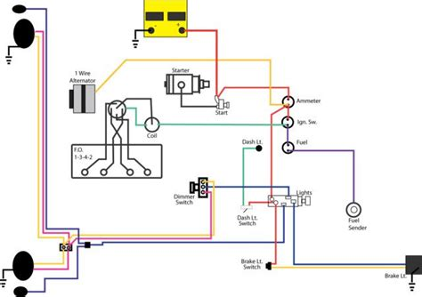 jeep cj2a wiring diagram wiring diagram with description