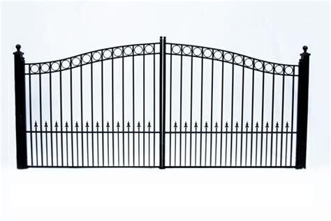 dual swing gate paris dual swing iron driveway gate 12 x 6 3 quot