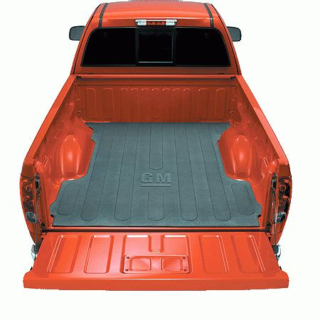 Non Slip Truck Bed Mats by Gm General Motors 12498416 Gm Accessories Bed Mat With Gm Logo 2004 2009 Chevy Colorado