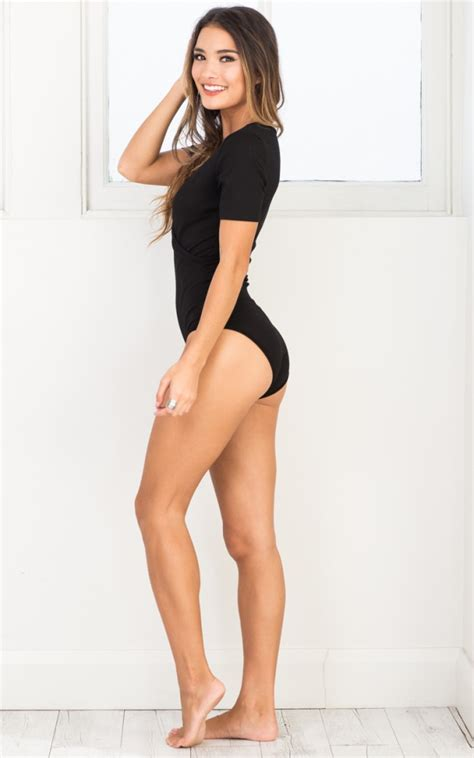 Lover Bodysuit bodysuit in black showpo