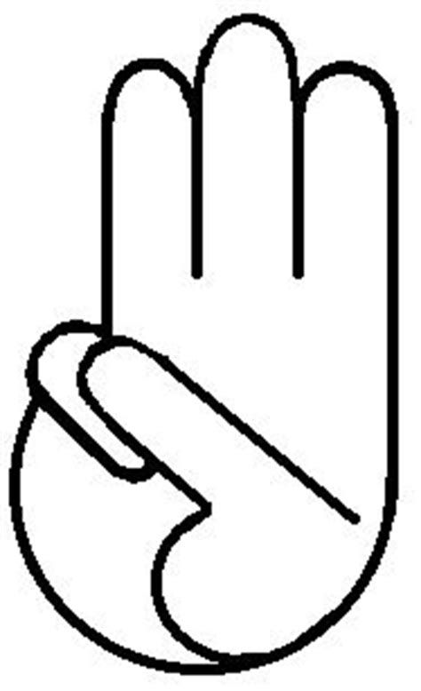 Girl Scout Hand Symbol
