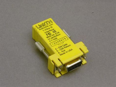 maxim integrated products 1 wire drivers ds9490r usb 1 wire adapter ibuttonlink