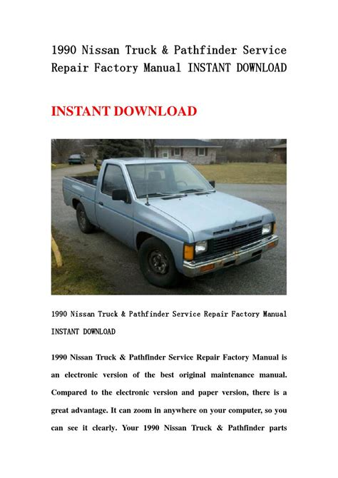 how to download repair manuals 1990 nissan datsun nissan z car electronic valve timing 1990 nissan truck pathfinder service repair factory manual instant download by hfhgsefnn issuu