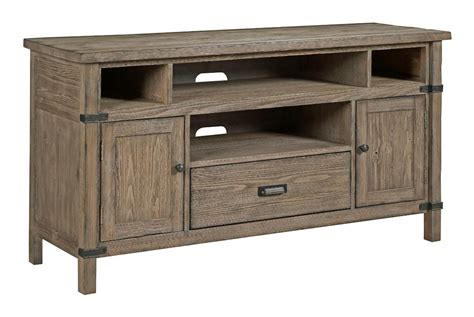 weathered gray console kincaid furniture foundry 59 035 rustic weathered gray