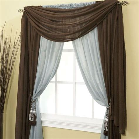 different curtain hanging styles entry ways style and window on pinterest