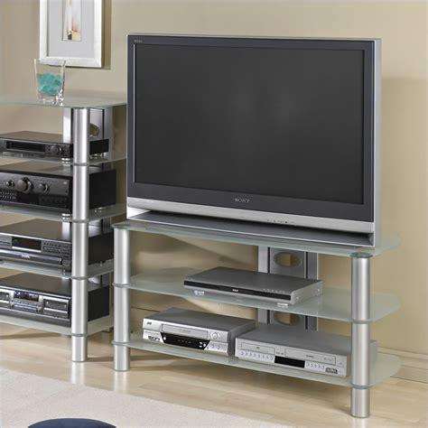 tech craft black metal tv stand ebay - Metal Tv Stands