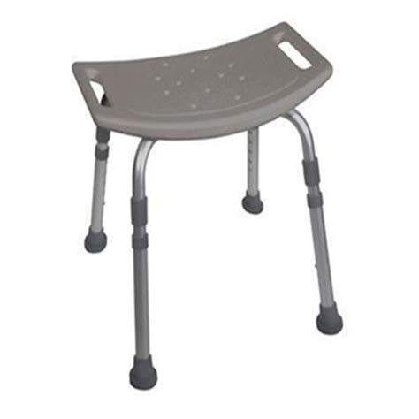 drive shower bench drive bath bench without back grey shower chair