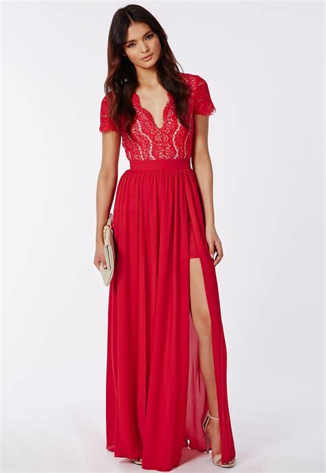 Maxi Dress ralona lace maxi dress with split dresses
