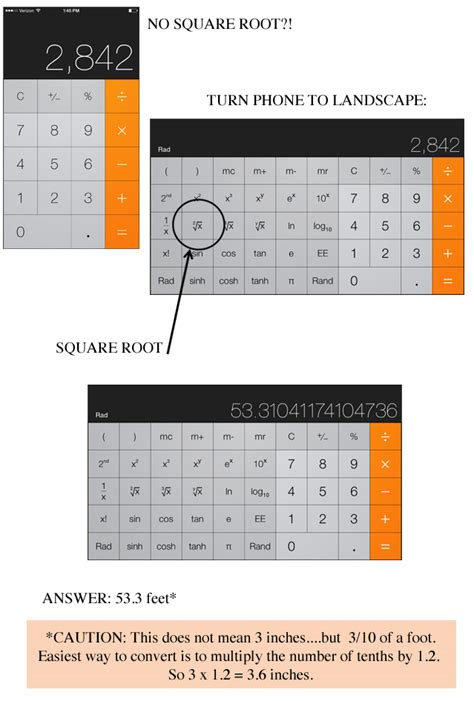 calculator root how to measure and square a fence layout