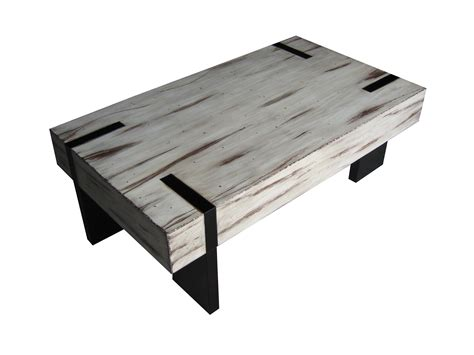 white wood coffee table white distressed wood coffee table furniture