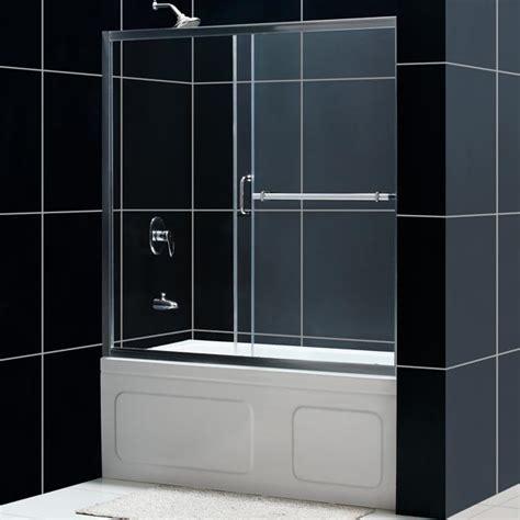 sliding glass shower doors for bathtubs infinity plus sliding tub door glass tub door from
