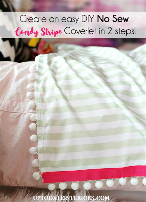 diy coverlet stockings with trim up to date interiors