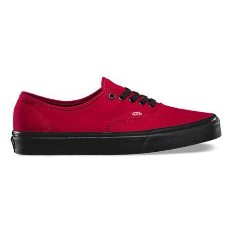 Sepatu Skate Vans Authentic Blacksole black sole authentic shop shoes at vans
