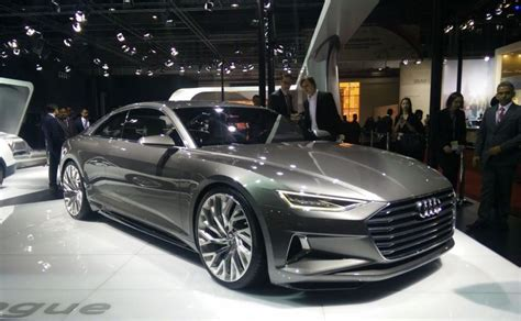 new audi concept car auto expo 2016 audi displays signature prologue concept