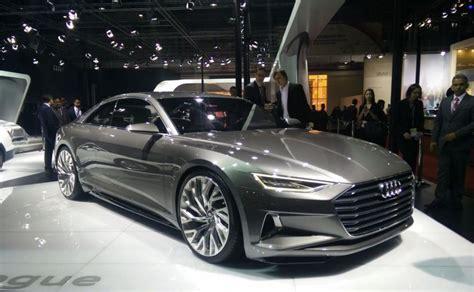 audi car auto expo 2016 audi displays signature prologue concept