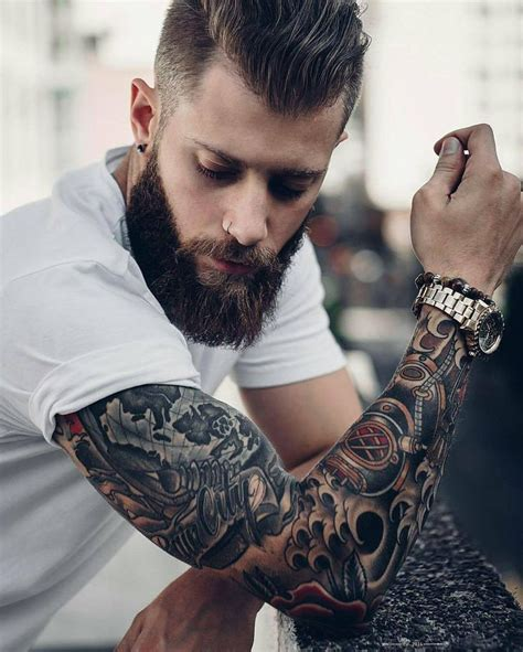 beards and tattoos 19 best beards with styles images on
