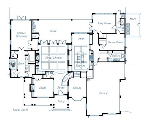 custom floorplans july 2012 house plans