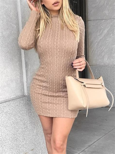 High Heels Wedges Wanita Rdo 017 Limited stylish knitted sleeve boydcon dress discover trend fashion at chicme