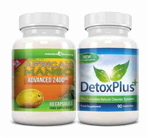 Liver Detox Products South Africa by Mango Detox Combo Dietary Supplement Cleanser