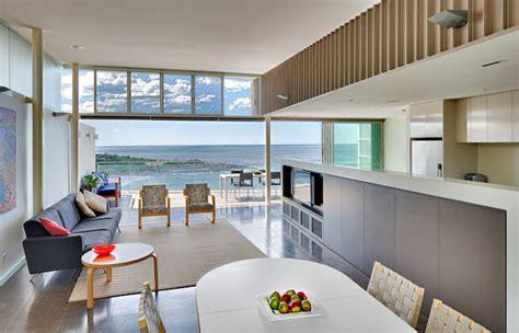 house beautiful ocean inspired kitchen urban grace energy efficient queenscliff house overlooks breathtaking