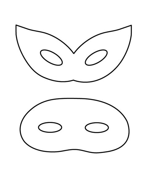 half mask printable template small mask stencil 1582 x 740 38 kb gif greyscale half