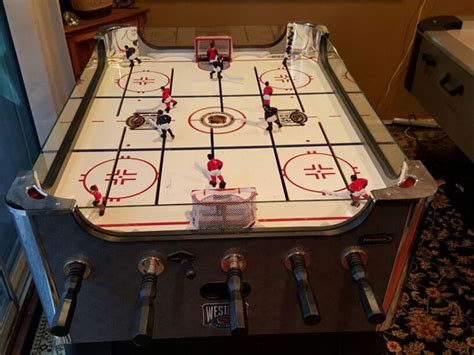 table scotts valley halex nhl elite rod hockey toys in scotts