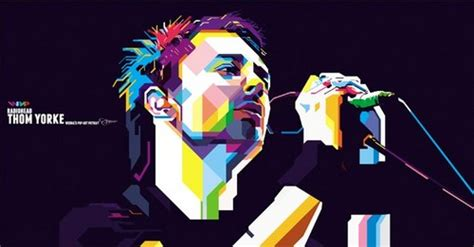 Thom Yorke Radiohead In Wpap radiohead images thom yorke in wedha s pop potrait