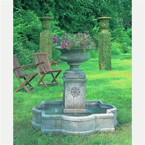palazzo urn large outdoor water fountain kinsey garden decor