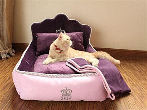 princess cat bed yicat set of 3 pet bed quilt and pillow comfortable