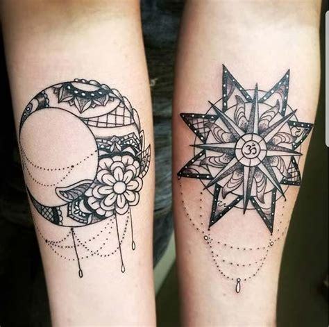 sun and moon tattoos for best friends 23 best friend tattoos for you and your bff crazyforus