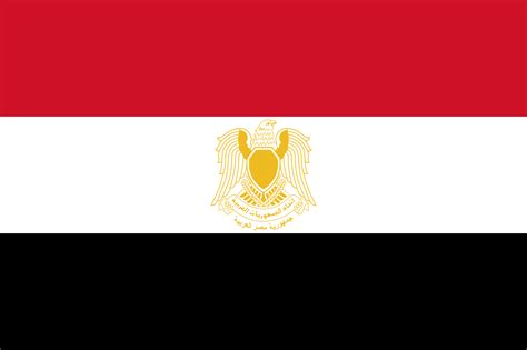 flags of the world red white black file flag of egypt 1972 1984 svg wikimedia commons