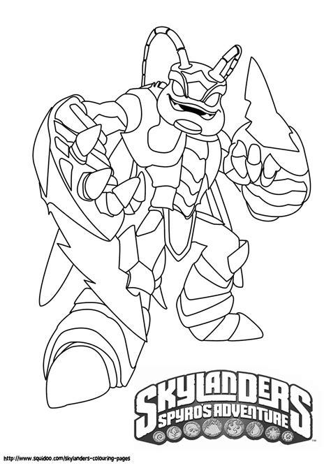 Skylander Birthday Coloring Page | skylanders swarm coloring pages jpg 1 131 215 1 600 pixels