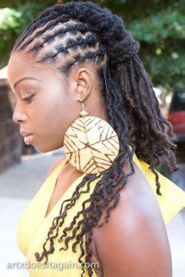 idées coiffures sur longues locks beauté femme noire #bfn