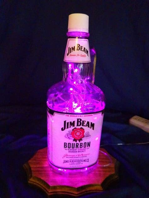 Jim Beam Bottle L by Jim Beam Light Shop Collectibles Daily