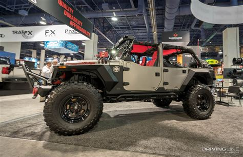 Jeeps Of Sema 2016 Gallery Drivingline