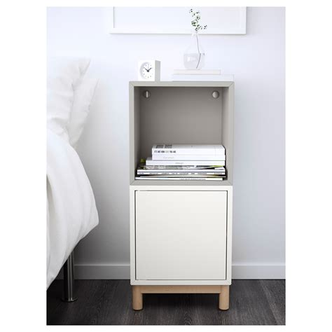 ikea eket cabinet eket cabinet combination with legs white light grey