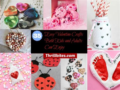 valentines craft ideas for adults 35 easy crafts both and adults can enjoy thrillbites