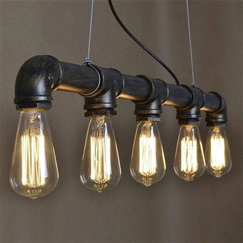 metal lighting fixtures 25 best ideas about pipe lighting on