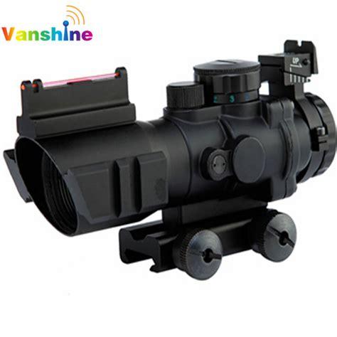 Reflex Sight Dot Scope 20mm Airsoft 4x32 acog riflescope 20mm dovetail reflex optics scope tactical sight for gun rifle