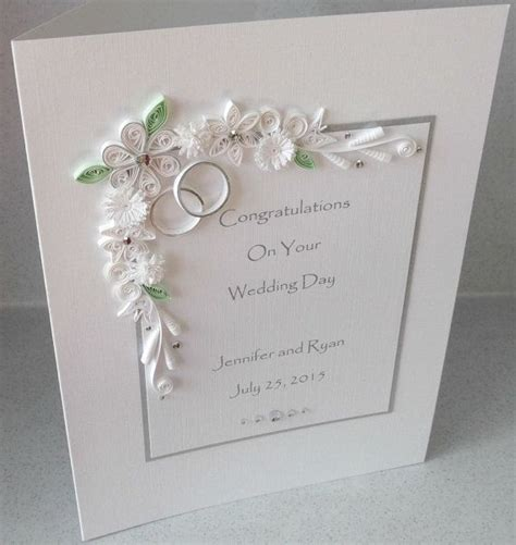Handmade Congratulations Card Ideas - the 25 best ideas about wedding congratulations on