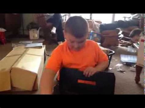 my little cousin thought he got an xbox one for christmas