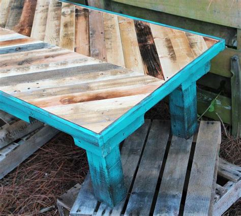diy chalk paint and stain stain and then paint with chalk paint turquoise and burnt