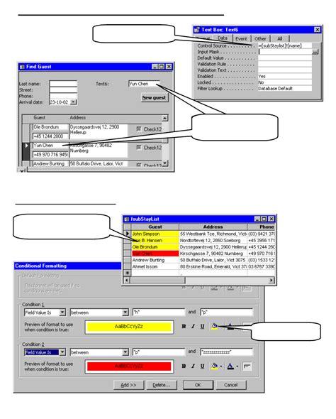 tutorial web html pdf download complete microsoft access tutorial pdf doc for