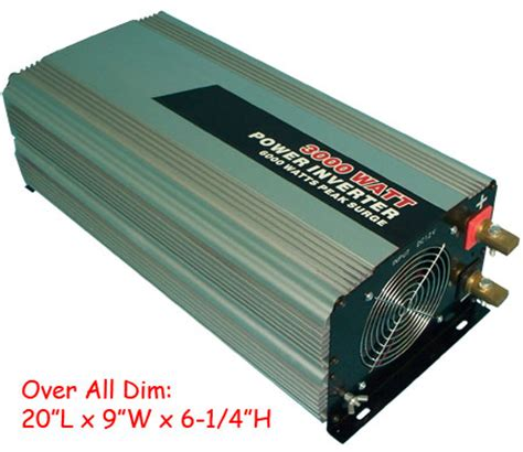 Remot Remote Ac Panasonic Inverter Kw wireless remote 3000 6000 watt dc to ac power inverter ebay