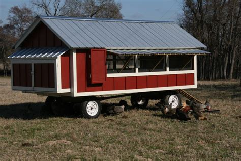 mobile chicken coop mobile chicken coop on wheels pinteres