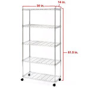 wire shelving with wheels metal shelving unit classics standing shelf holds wire